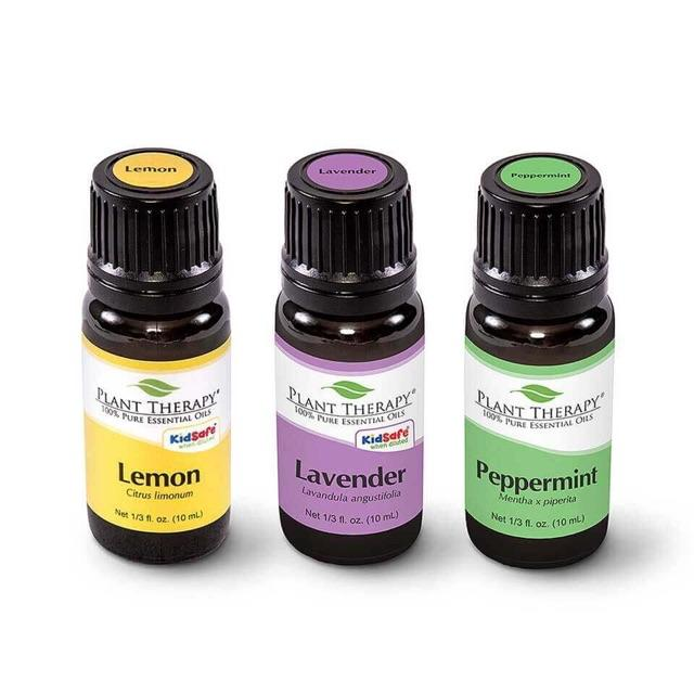 Plant Therapy Lemon, Lavender and Peppermint Set