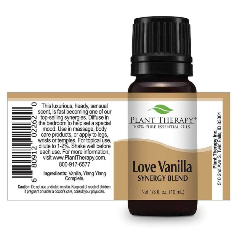 Plant Therapy Love Vanilla Synergy Essential Oil