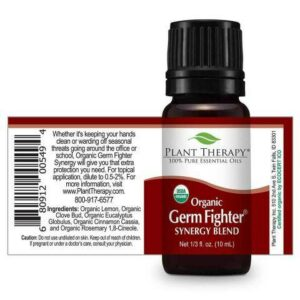Plant Therapy Germ Fighter Organic Synergy Essential Oil 10ml