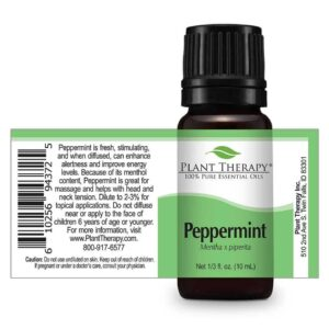 Plant Therapy Peppermint Essential Oil