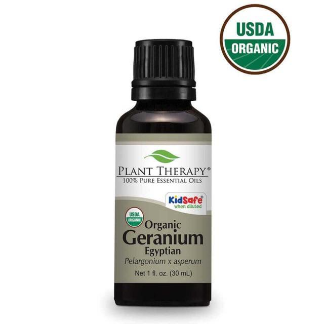 Plant Therapy Geranium Egyptian Organic Essential Oil