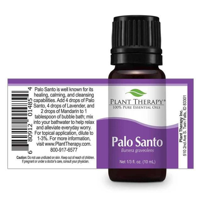 Plant Therapy Palo Santo Essential Oil