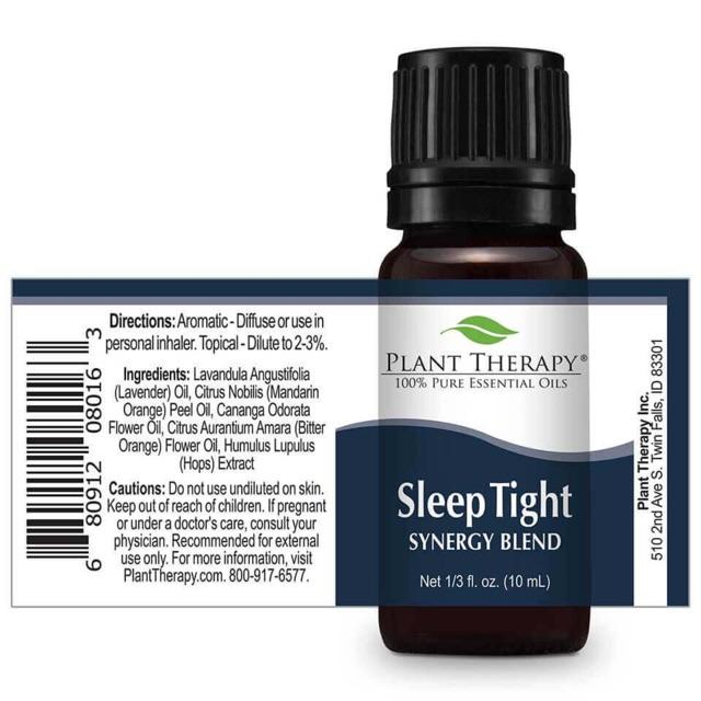 Plant Therapy Sleep Tight Synergy Essential Oil