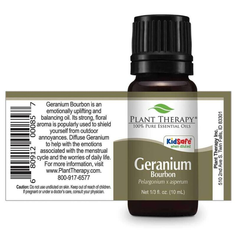 Plant Therapy Geranium Bourbon Essential Oil