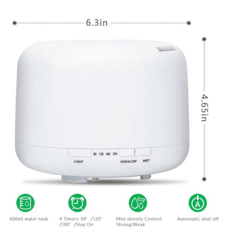 500ml Muji Style Ultrasonic Aroma Diffuser