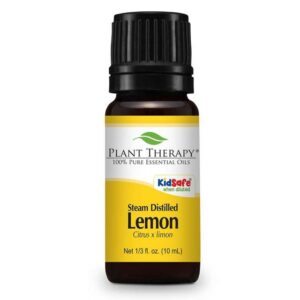 Plant Therapy Lemon Steam Distilled Essential Oil