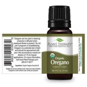 Plant Therapy Oregano Organic Essential Oil