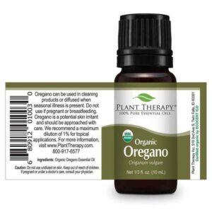 Plant Therapy Oregano Organic Essential Oil
