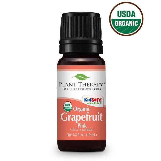 Plant Therapy Grapefruit Pink Organic Essential Oil