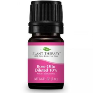 Plant Therapy Rose Otto Diluted Essential Oil