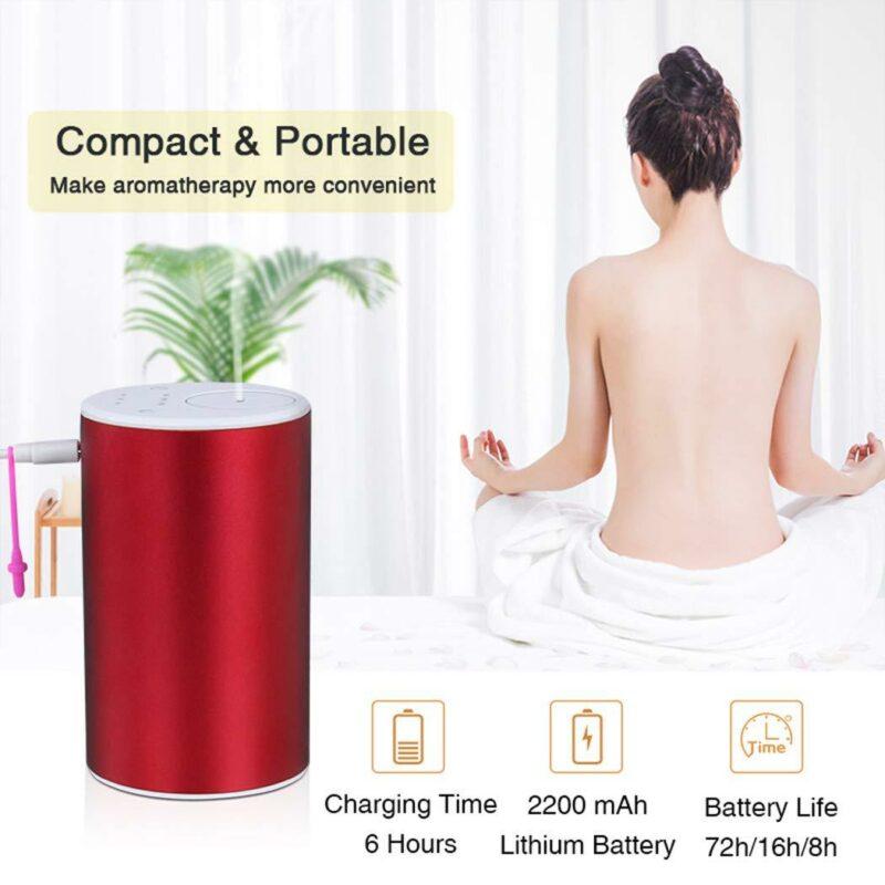 CS9 Waterless Portable Essential Oil Nebulizer