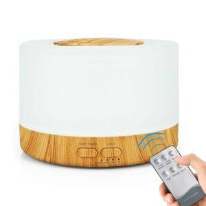 500ml Muji Style Remote Control Ultrasonic Aroma Diffuser