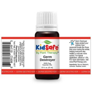 Plant Therapy Germ Destroyer KidSafe Essential Oil