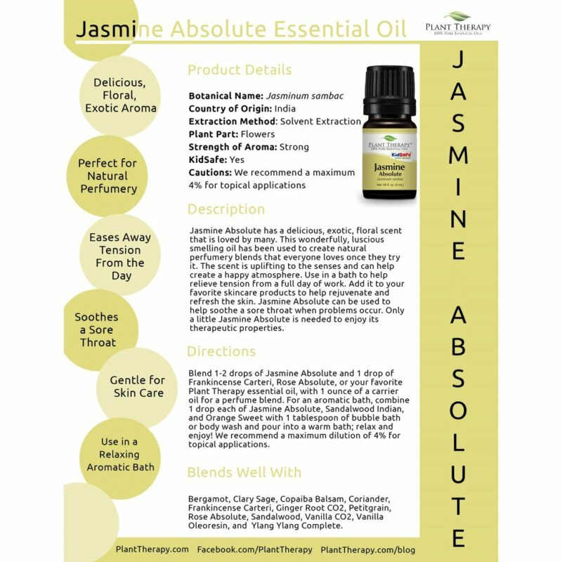 Plant Therapy Jasmine Absolute