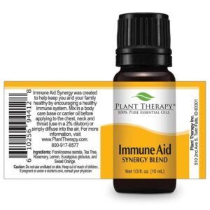 Plant Therapy Immune Aid Synergy Essential Oil