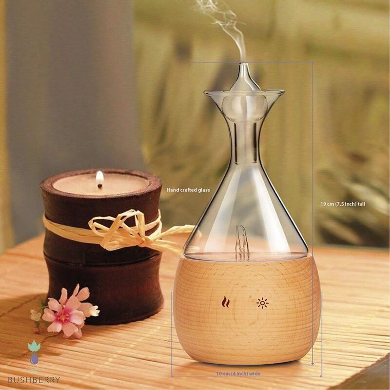 Jade Vase Nebulizing Diffuser W/ Touch Sensor