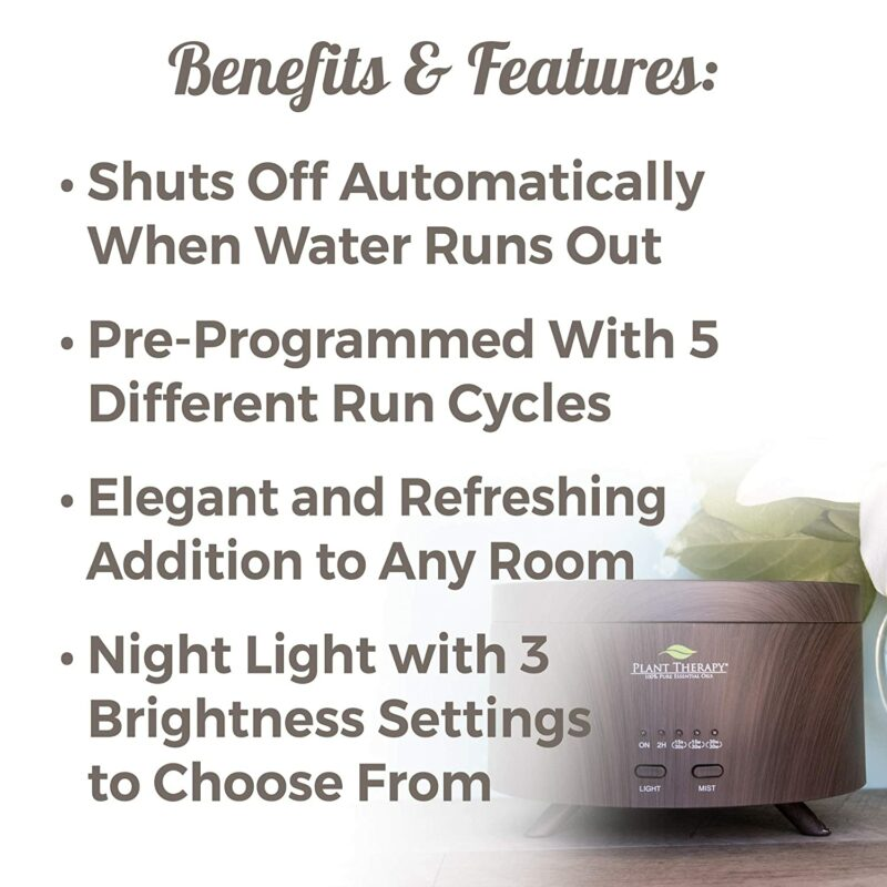 Plant Therapy AromaFuse Aromatherapy Essential Oil Diffuser
