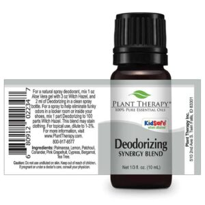 Plant Therapy Deodorizing Synergy Essential Oil