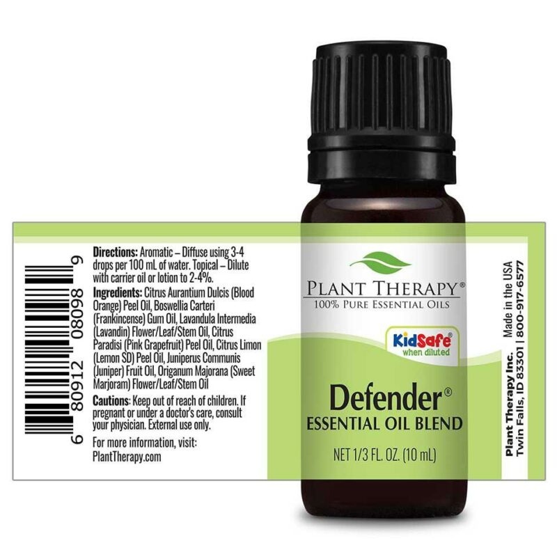 Plant Therapy Defender Synergy Essential Oil