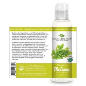 Plant Therapy Melissa Organic Hydrosol