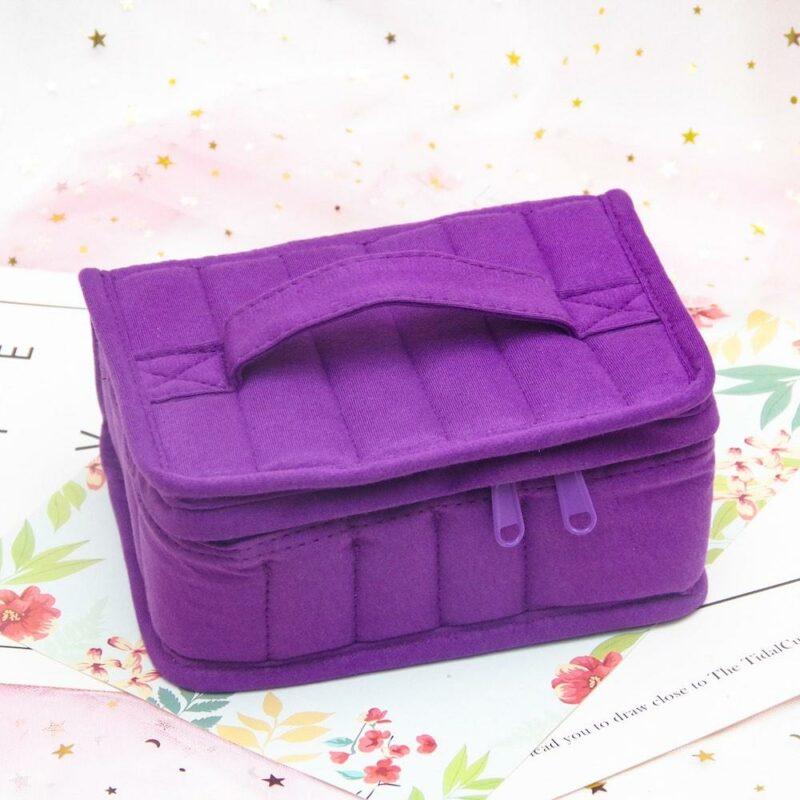 Purple Essential Oil Carrying Bag Medium