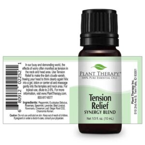 Plant Therapy Tension Relief Synergy Essential Oil