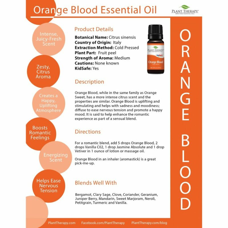 Plant Therapy Orange Blood Essential Oil