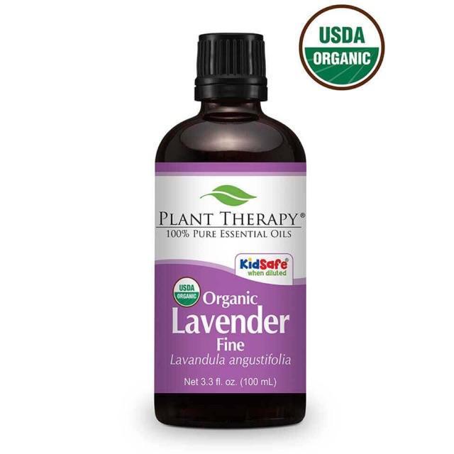 Plant Therapy Lavender Fine Organic Essential Oil