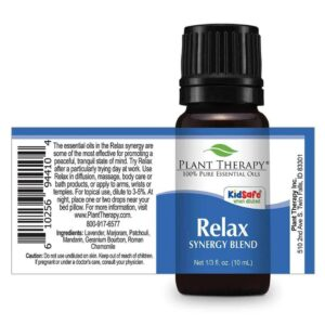 Plant Therapy Relax Synergy Essential Oil