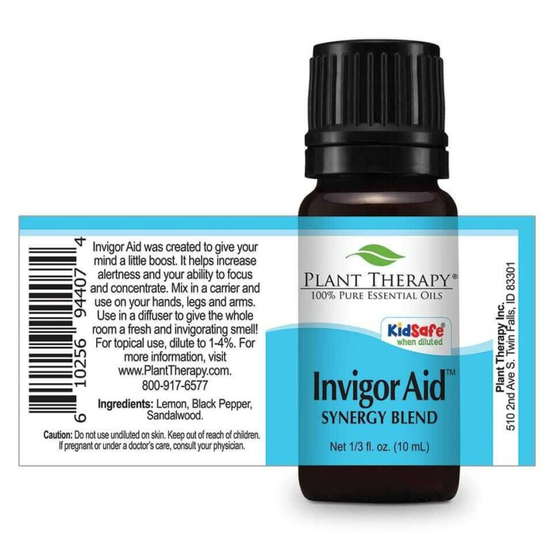Plant Therapy Invigor Aid Synergy Essential Oil