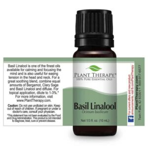 Plant Therapy Basil Linalool Essential Oil