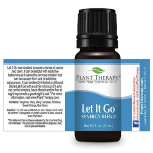 Plant Therapy Let It Go Synergy Essential Oil
