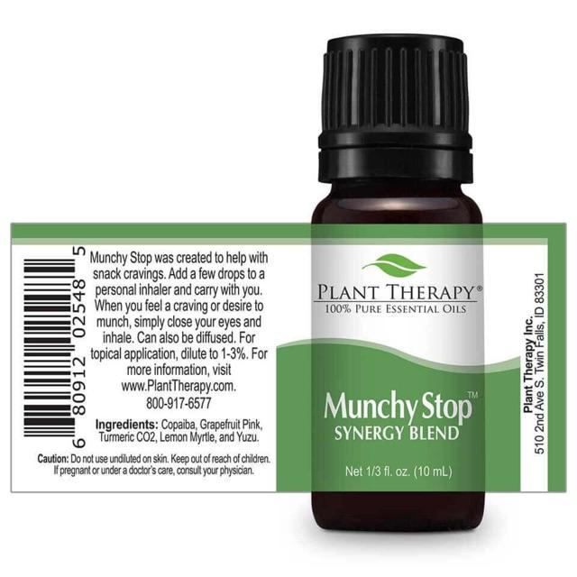 Plant Therapy Munchy Stop Synergy Essential Oil