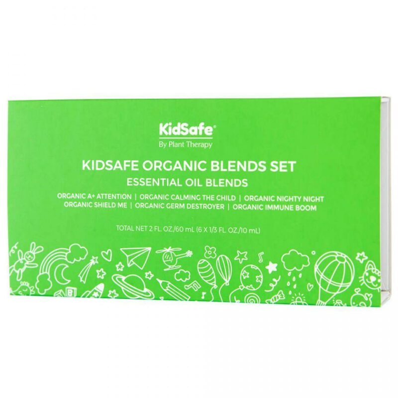 Plant Therapy KidSafe Organic Blends Set