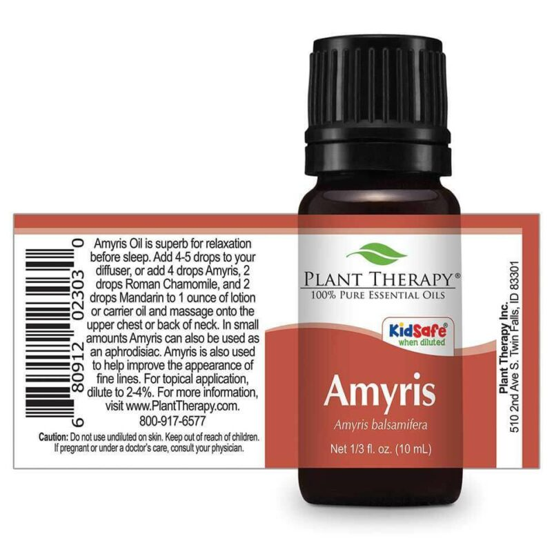 Plant Therapy Amyris Essential Oil