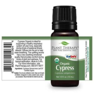 Plant Therapy Cypress Organic Essential Oil