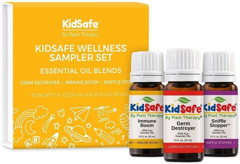 Plant Therapy KidSafe Wellness Sampler Set