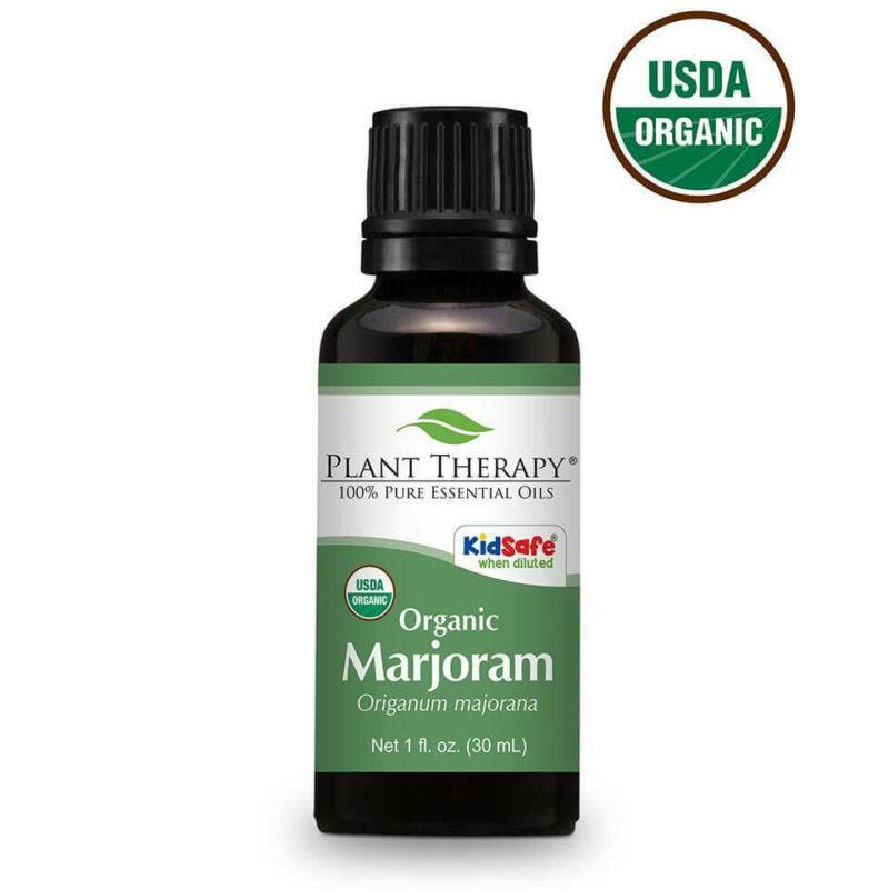 Plant Therapy Marjoram Sweet Organic Essential Oil