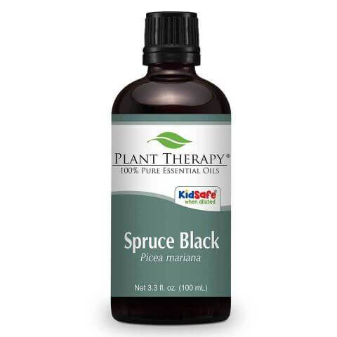 Plant Therapy Spruce Black Essential Oil