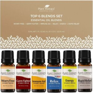 Plant Therapy Top 6 Blends Set