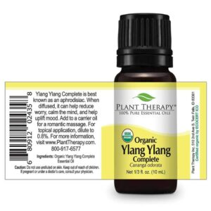 Plant Therapy Ylang Ylang Complete Organic Essential Oil