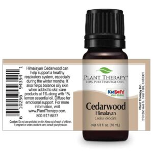 Plant Therapy Cedarwood Himalayan Essential Oil