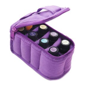 Purple Essential Oil Carrying Bag Small