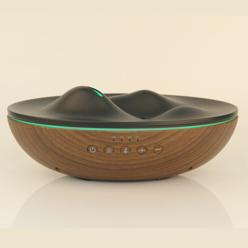 X8 bluetooth music wood diffuser 04
