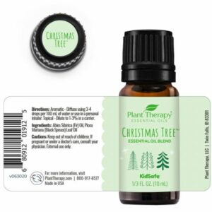 Plant Therapy Christmas Tree Essential Oil Blend 10ml