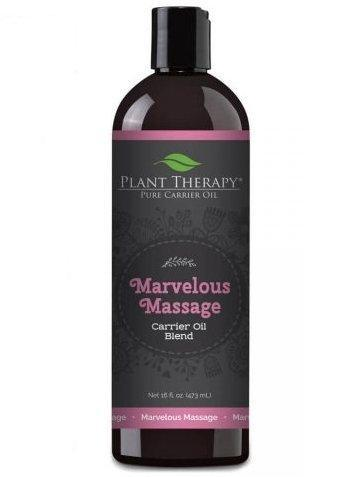 plant therapy marvelous massage carrier oil blendoilypod 324688