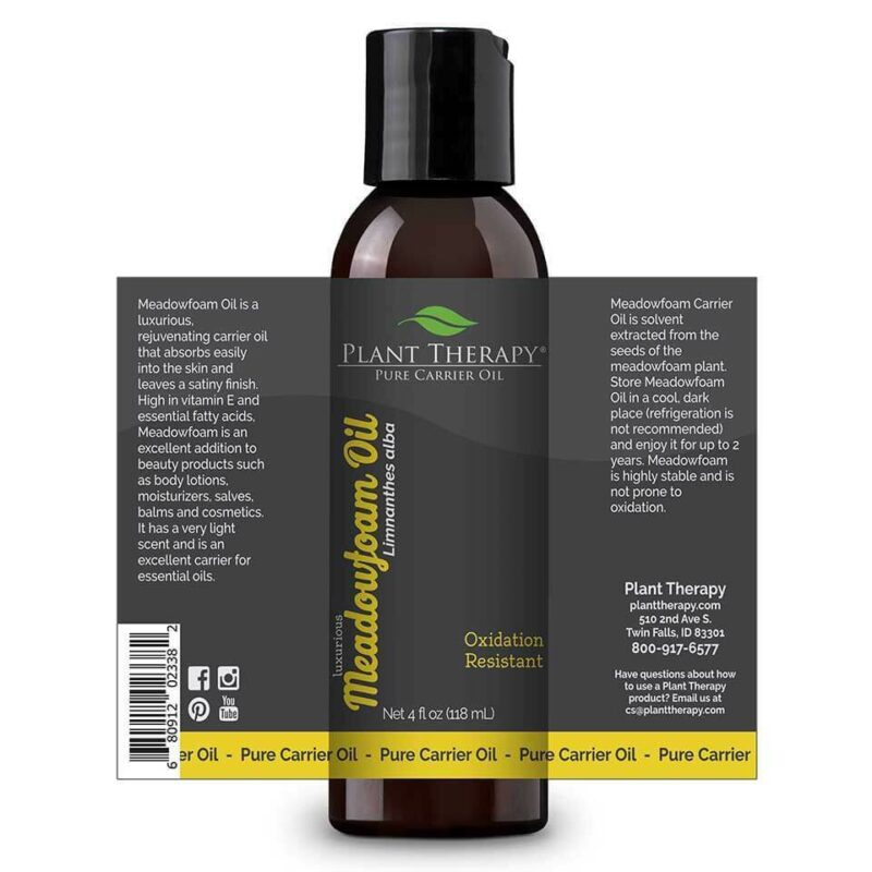plant therapy meadowfoam carrier oil 430579