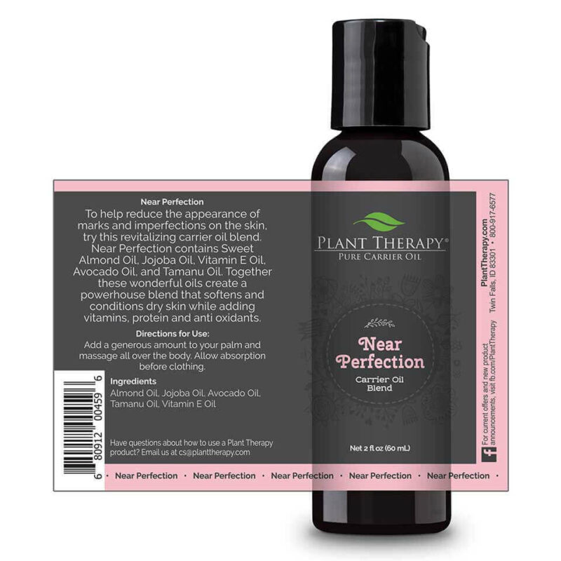 plant therapy near perfection carrier oil blendoilypod 297600