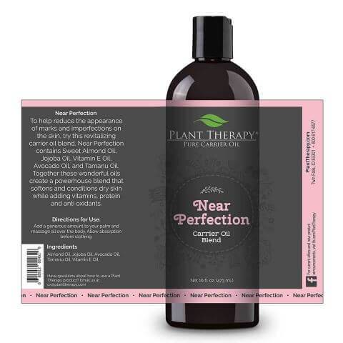 plant therapy near perfection carrier oil blendoilypod 865026