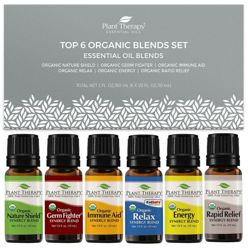 plant therapy top 6 organic blends setoilypod 988805
